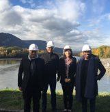 Visite du Président à Grenoble- EDF Hydraulique