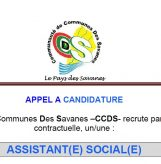APPEL A CANDIDATURE : ASSISTANT(E) SOCIAL(E)
